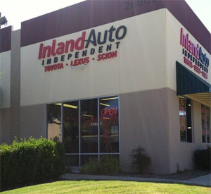 Inland Auto Murrieta Repair Shop Exterior